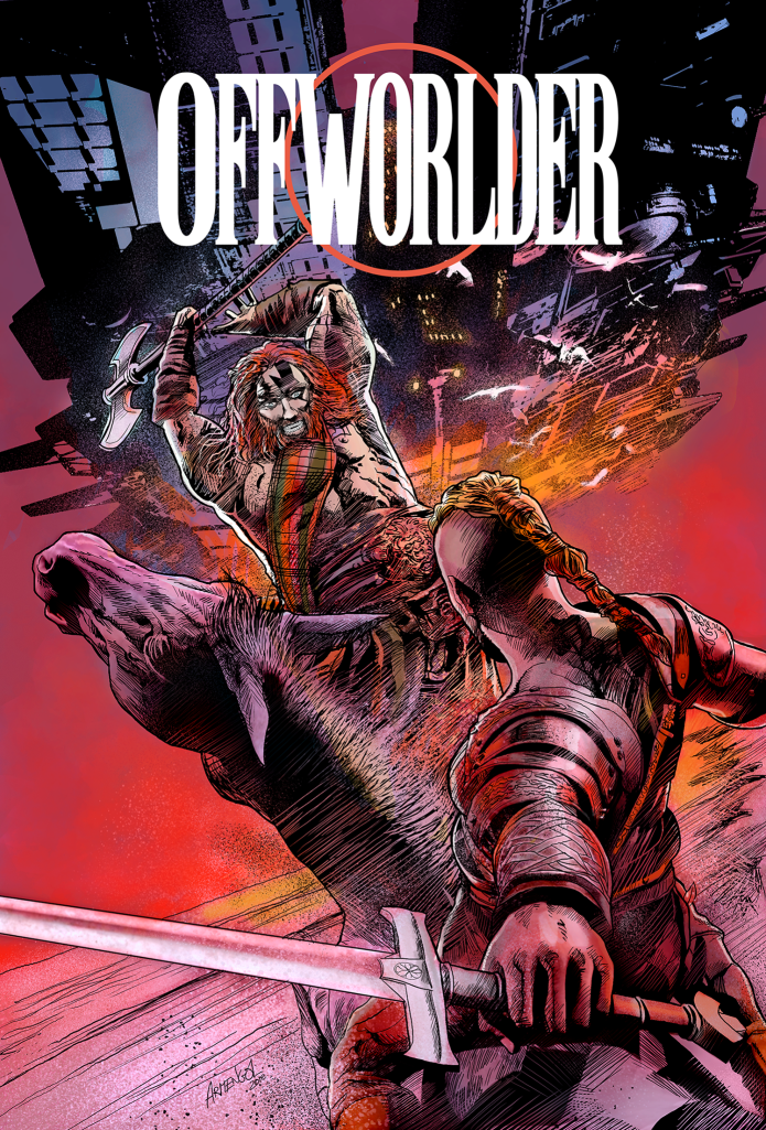 OFFWORLDER! Blood in the Jungle, and Ravage !
