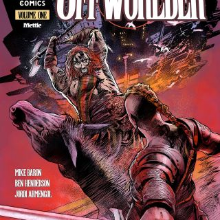 OFFWORLDER issue 1 by Mike Baron & Jordi Armengol