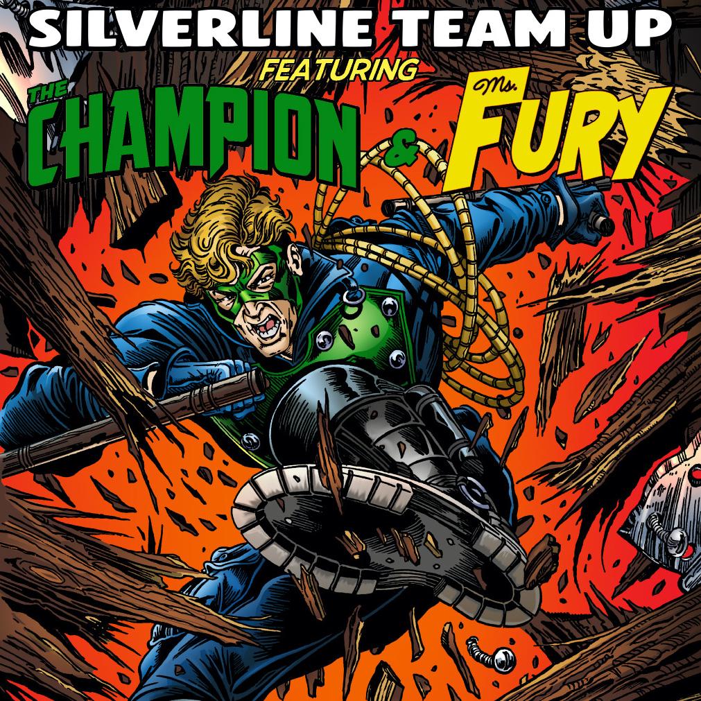 Silverline Double Feature: Beah #1, Silverline Team-Up #1