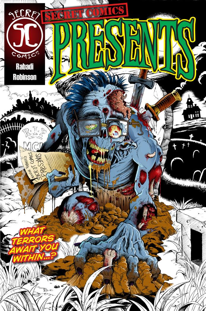 Secret Comics Presents: a horror comic book