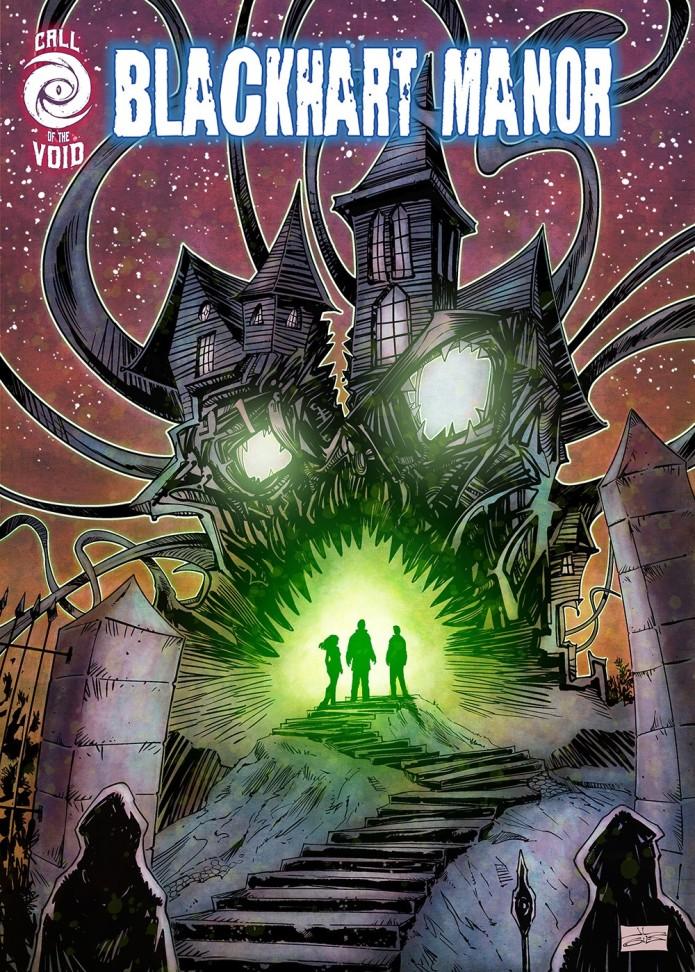 BLACKHART MANOR - A 'Lovecraftian' horror-zine