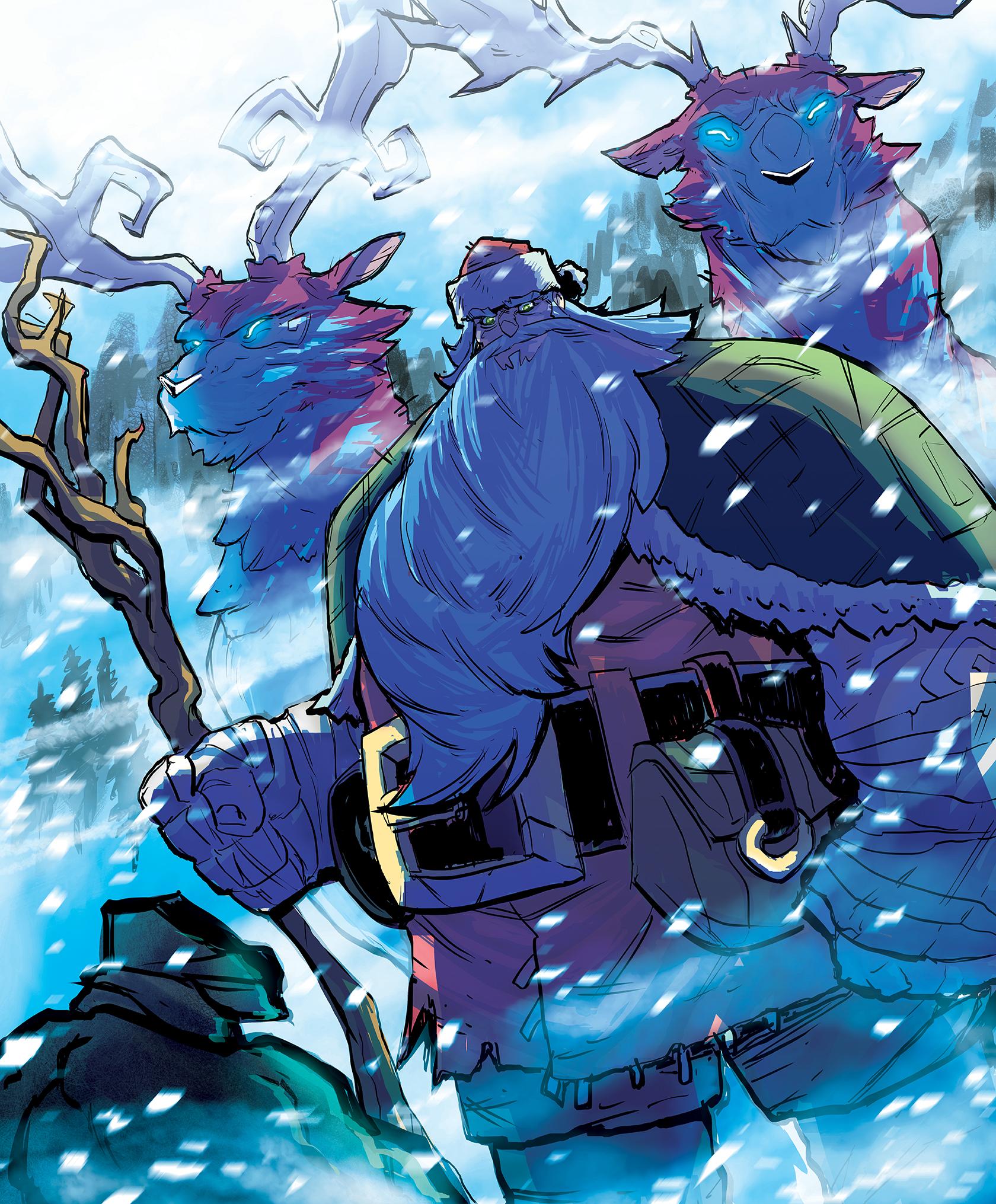 BRIC-A-BRAC #1: A Fantasy Christmas Story