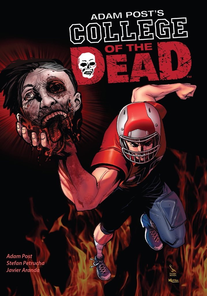 COLLEGE OF THE DEAD COMIC BOOK
