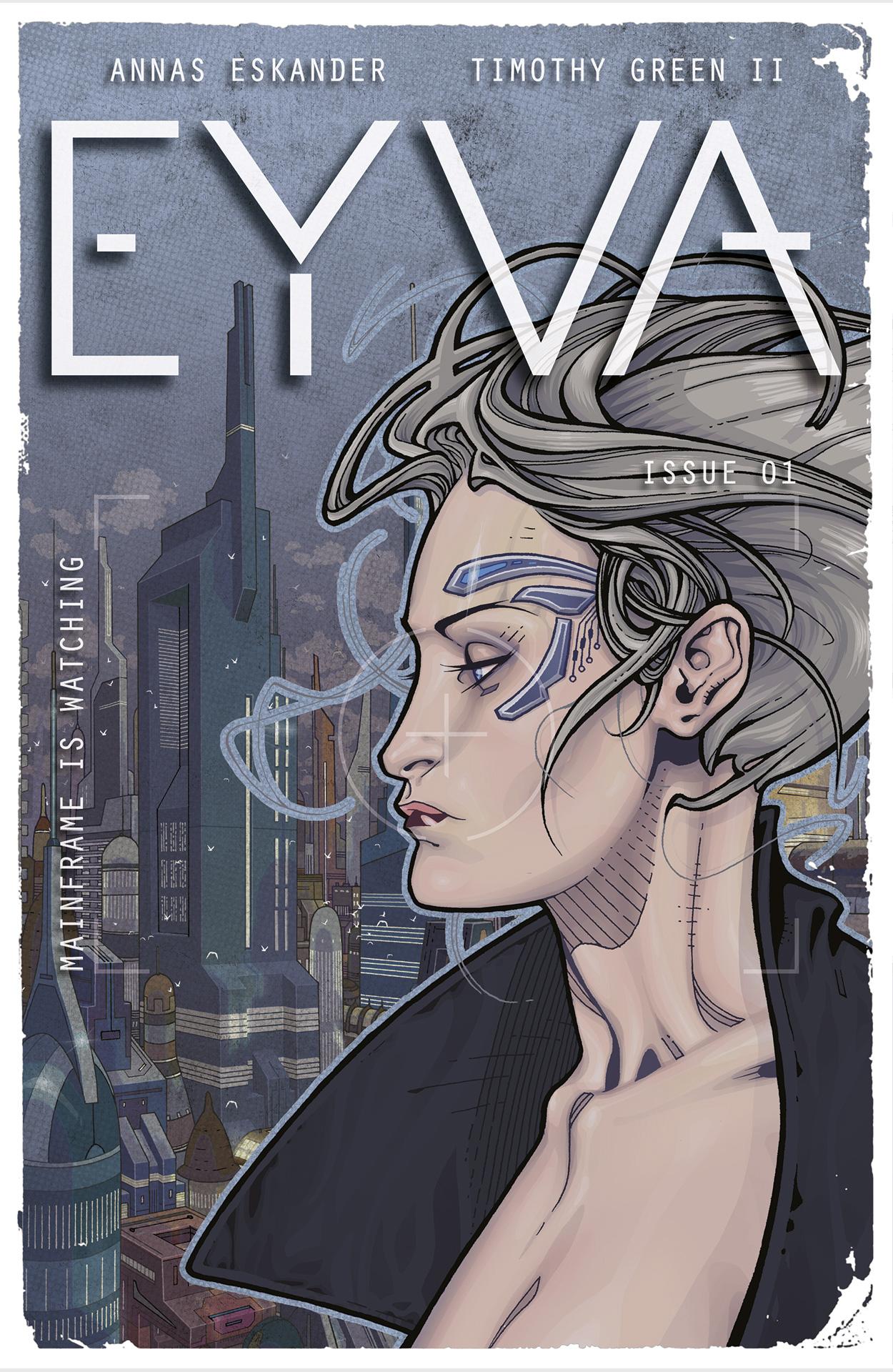 EYVA Comic Issue 1: Mainframe is Watching