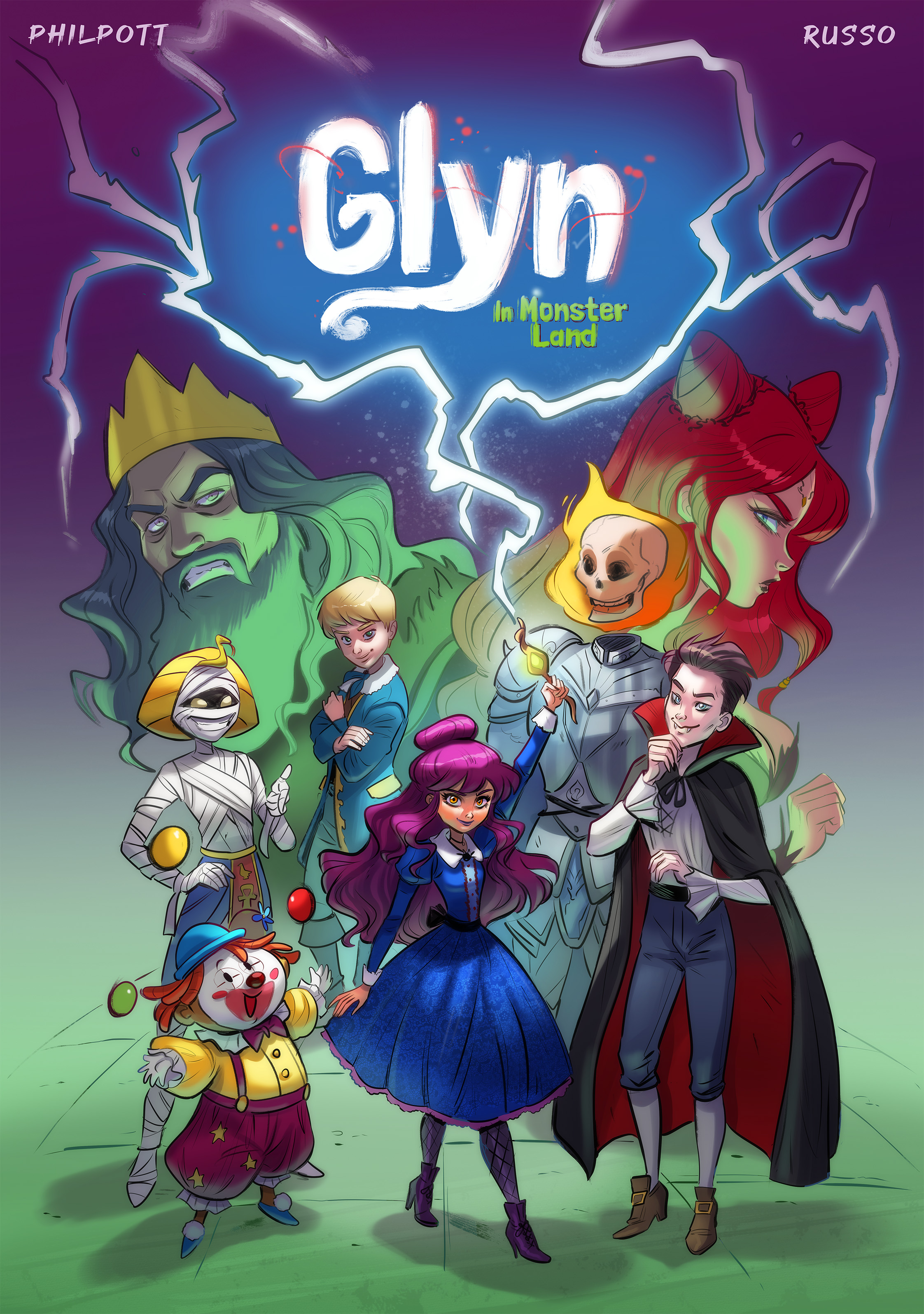 Glyn In Monster Land