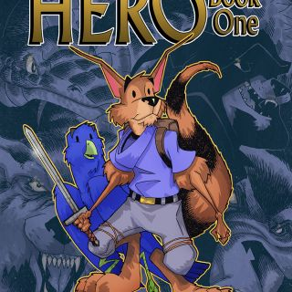 HERO Book 1 Full Color Kid Friendly Graphic Novel