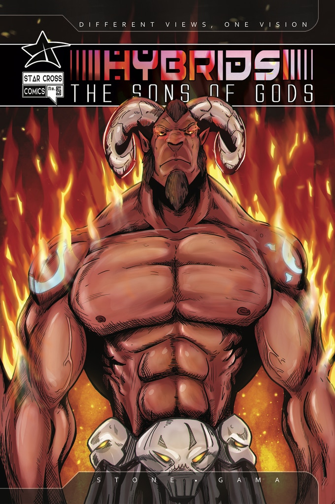 Hybrids: The Sons of Gods  the Complete First Arc