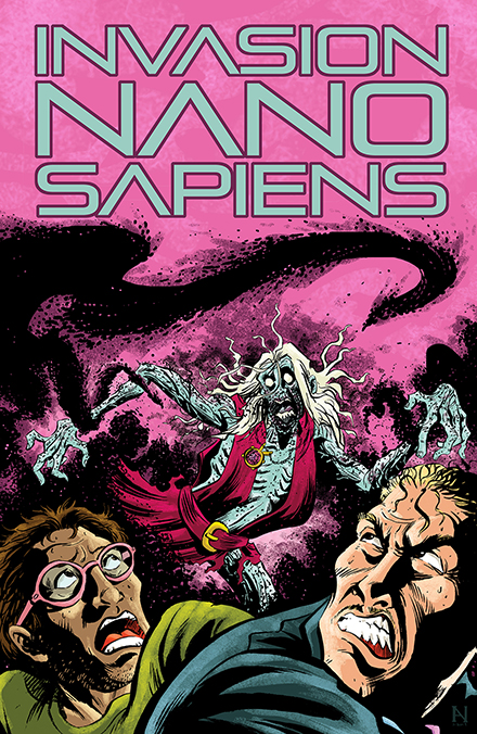 INVASION NANO SAPIENS-SCI-FI HORROR GRAPHIC NOVEL