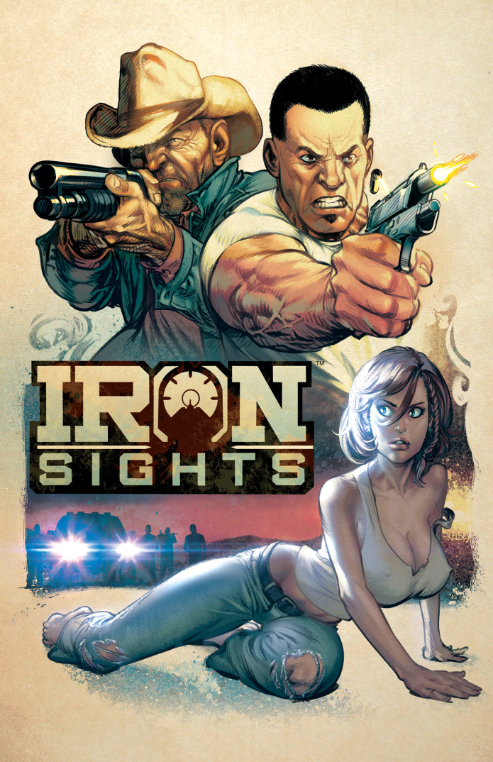 IRON SIGHTS graphic novel