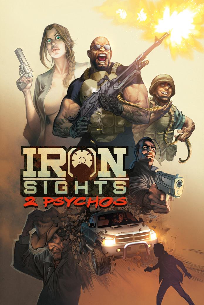 IRON SIGHTS: 2 PSYCHOS Graphic Novel