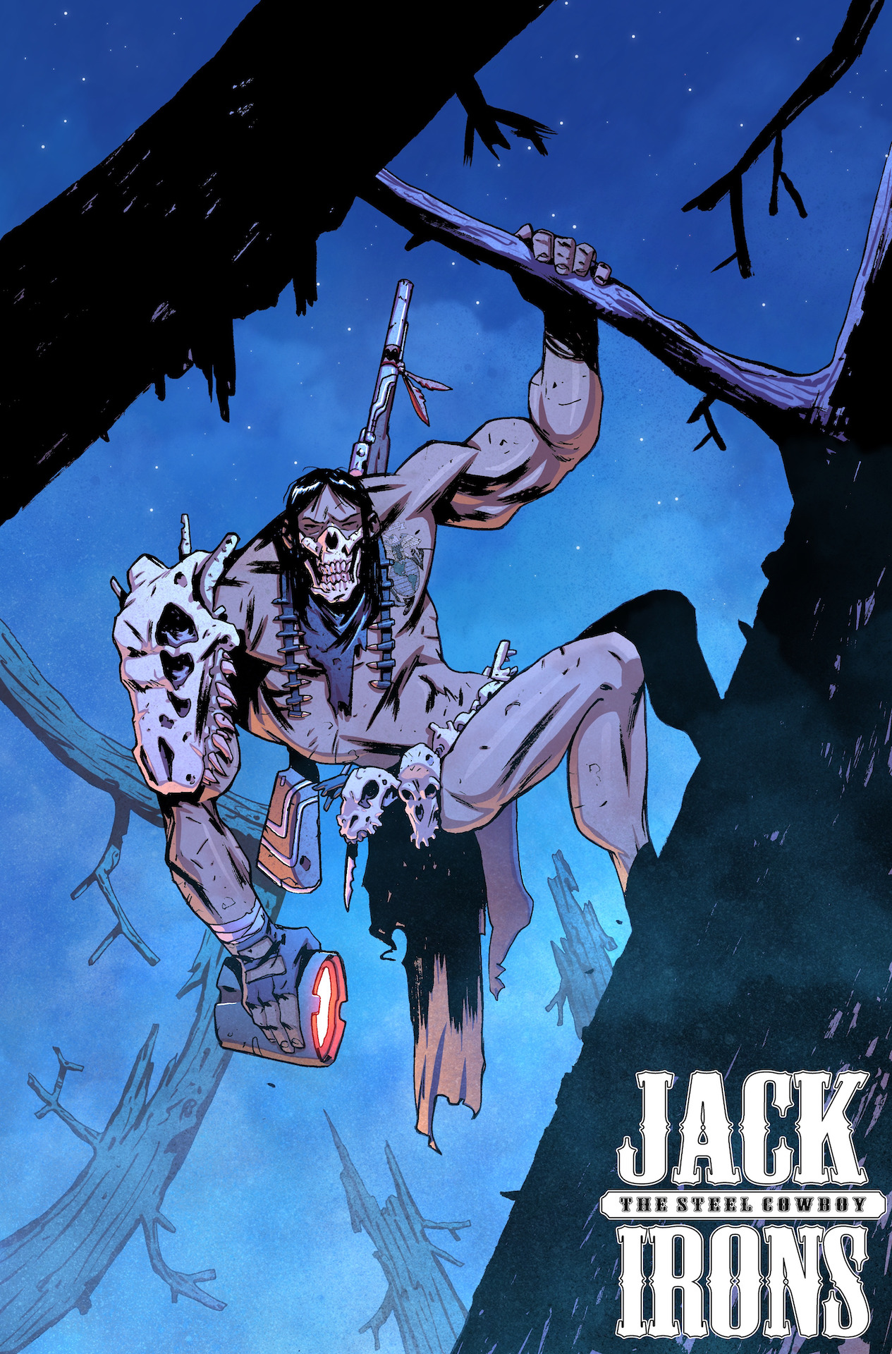 Jack Irons: The Steel Cowboy Issues #1-3