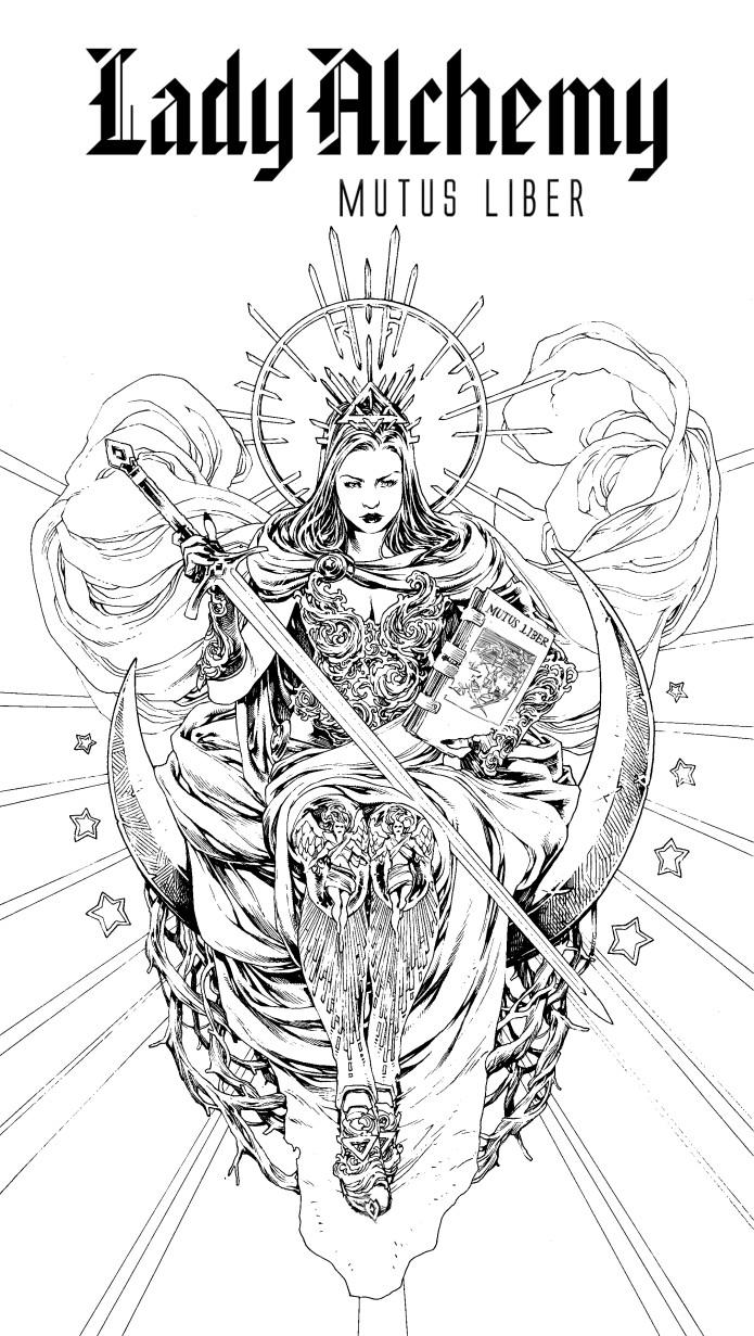 LADY ALCHEMY: MUTUS LIBER Graphic Novel