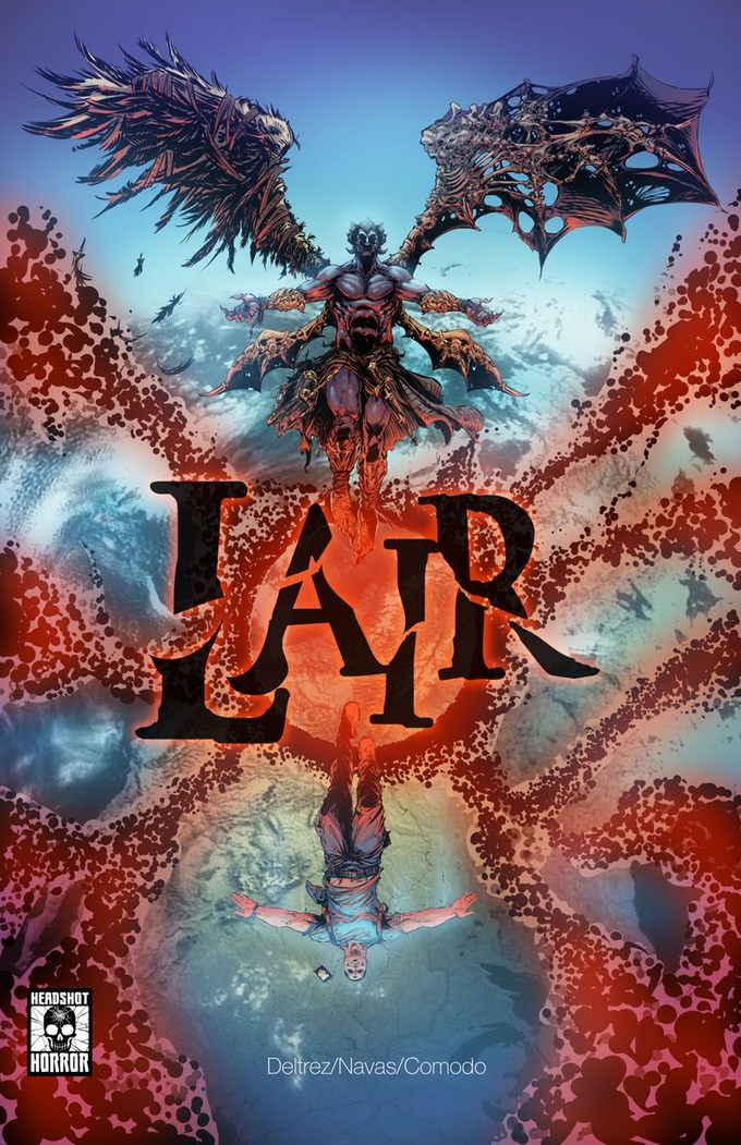 LAIR: Para-Dimensional Demon Horror -Graphic Novel
