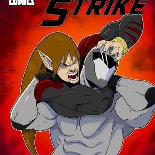 Quick Strike: A Superhero intro comic book