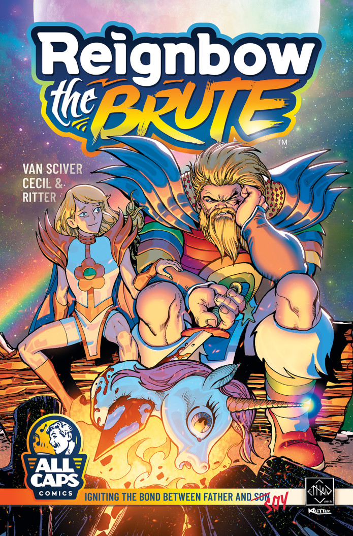 Ethan Van Sciver's REIGNBOW THE BRUTE