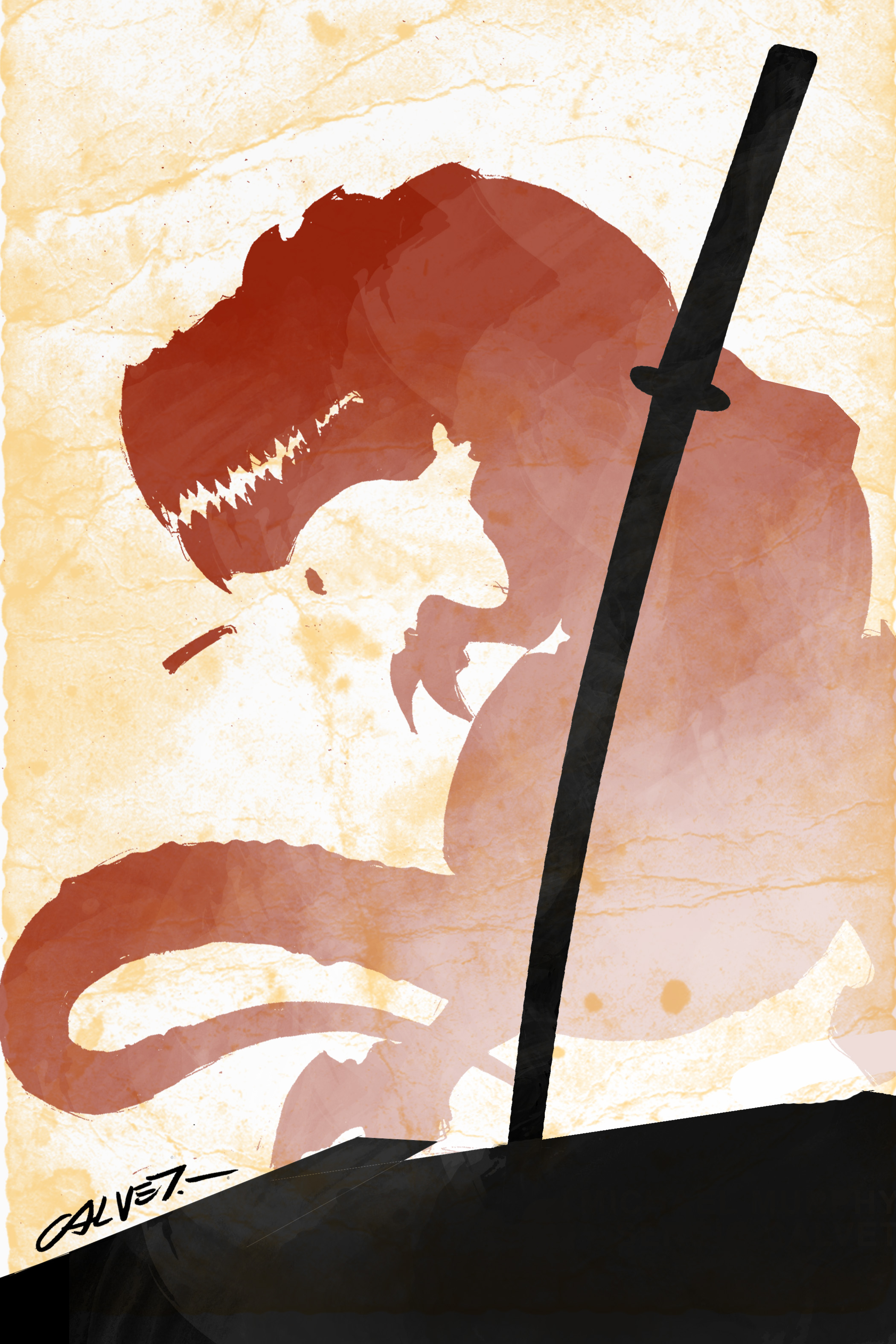 Samurai And Dinosaurs: A Graphic Novel