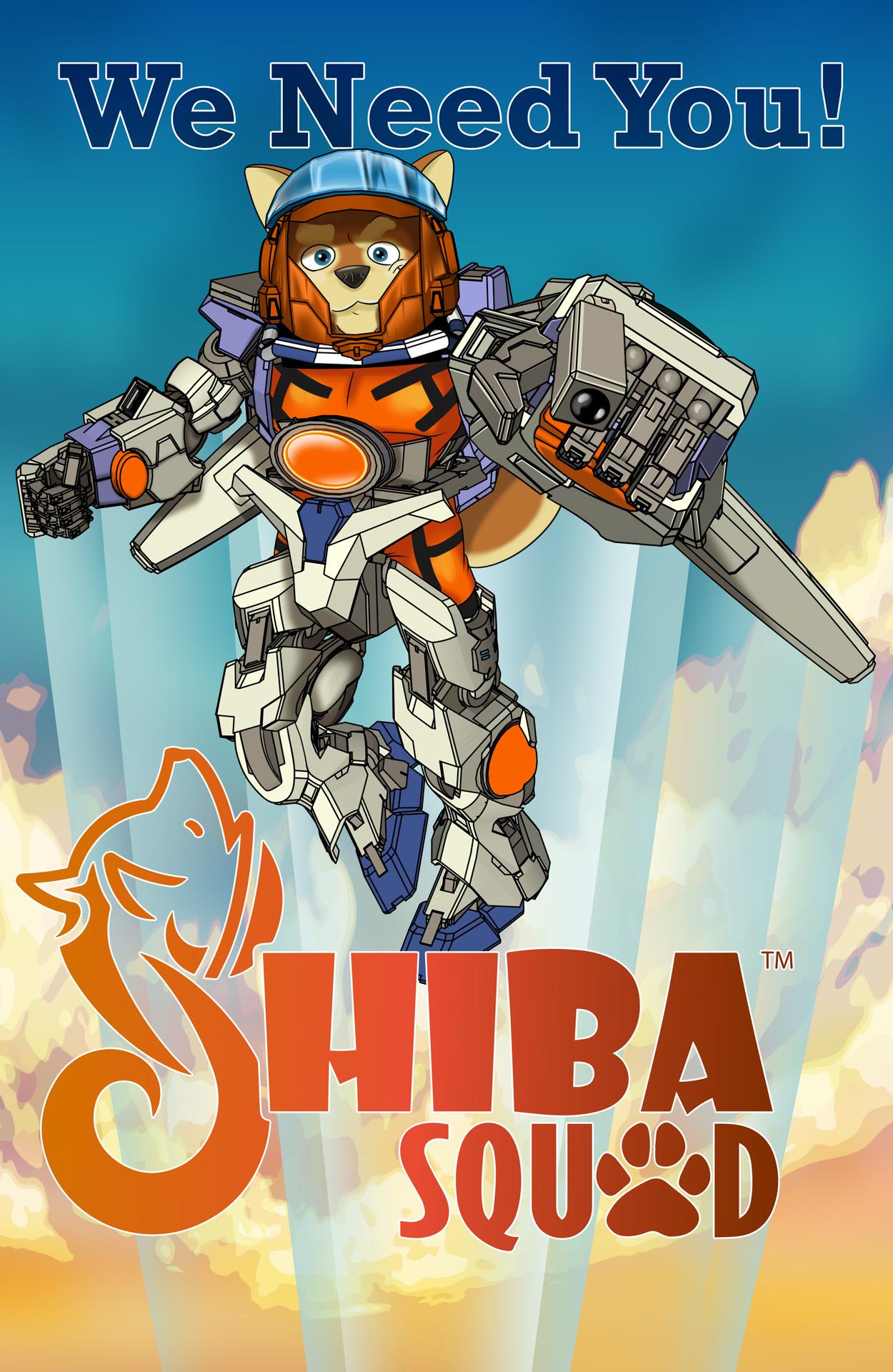Shiba Squad - An Original Comic Book Series