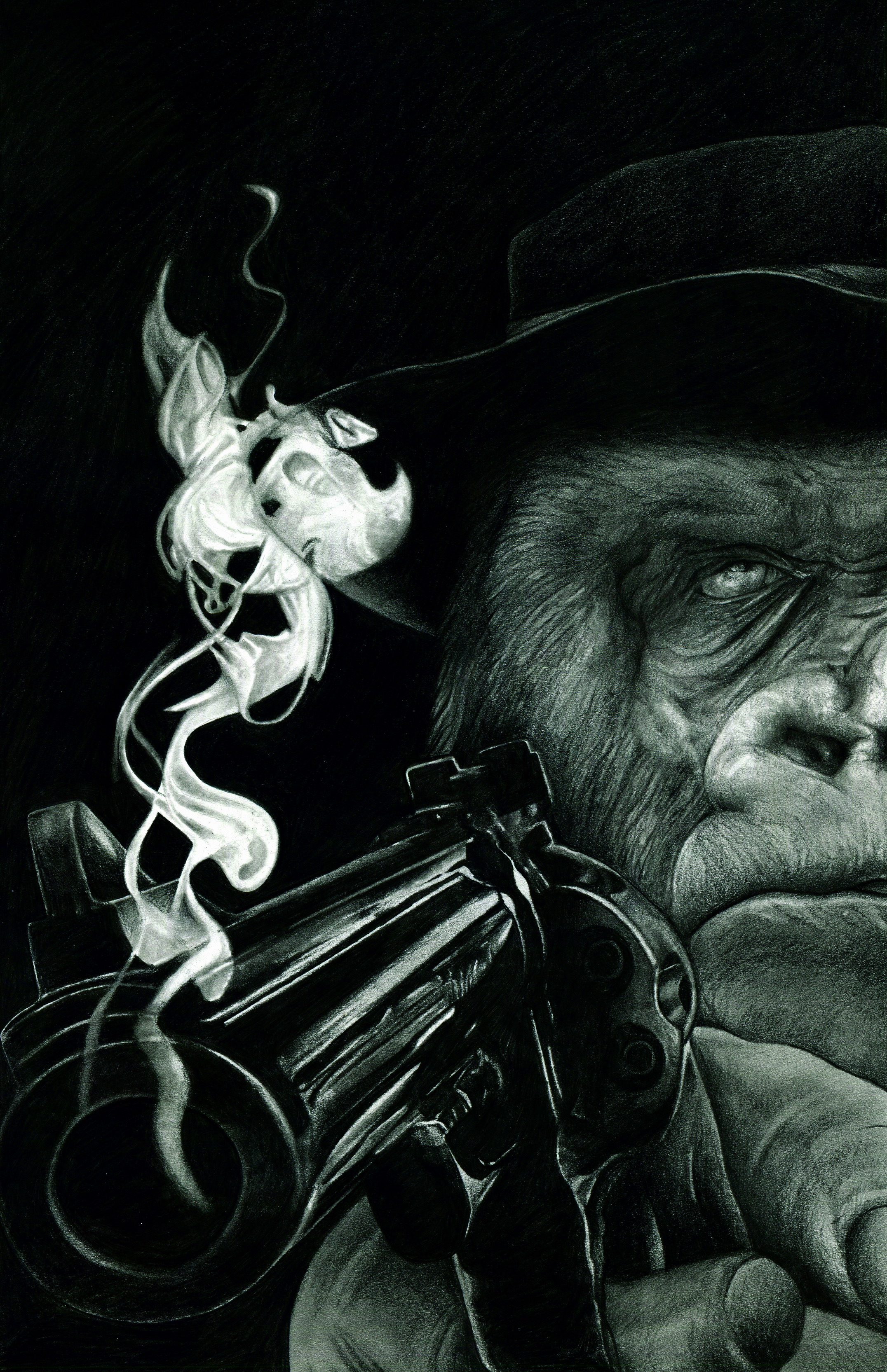 SIX-GUN GORILLA Graphic Novel
