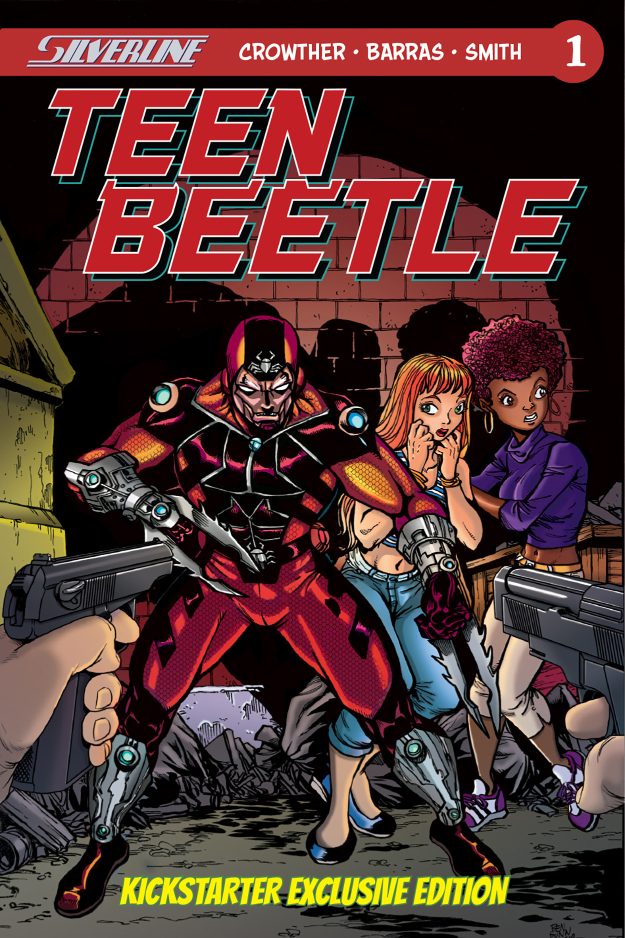 Silverline Double Feature: Teen Beetle #1 and Switchblade #1
